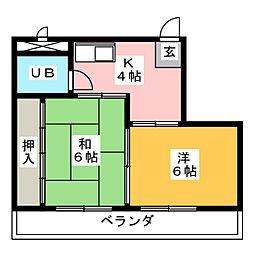 コートハウス[3階]の間取り