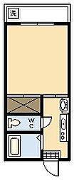 山口コーポ[B2-11号室]の間取り