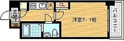 セレニテ福島calme[7階]の間取り