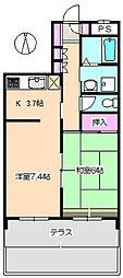 グレートフューチャーパート2[1階]の間取り