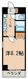 ラ・テール[203号室号室]の間取り