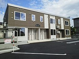 北海道旭川市新富一条3丁目の賃貸アパートの外観