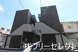 福岡県北九州市小倉北区片野新町2丁目の賃貸アパートの外観