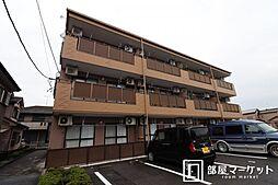 愛知県岡崎市北野町字西野山の賃貸マンションの外観