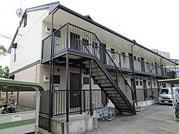 滋賀県草津市岡本町の賃貸アパートの外観