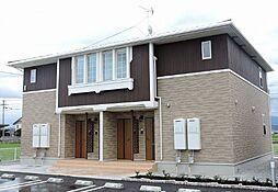 香川県高松市亀田町の賃貸アパートの外観