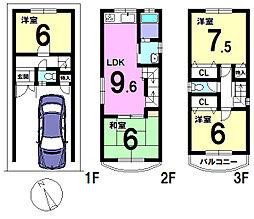 北加賀屋駅 1,880万円