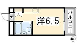 忍町中村コーポ[505号室]の間取り