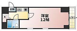 ダイアパレス新大阪[4階]の間取り