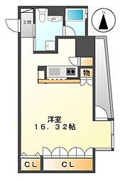 カスタリア伏見[8階]の間取り
