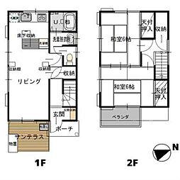 [一戸建] 千葉県柏市藤心1丁目 の賃貸【/】の間取り