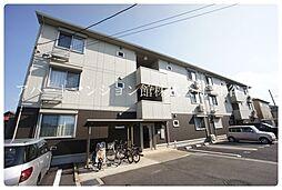 茨城県守谷市百合ケ丘3丁目の賃貸アパートの外観