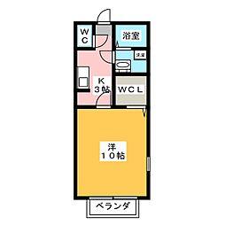 プチ・パレ[1階]の間取り