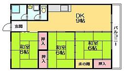 第2吉原ビル[4階]の間取り