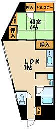 第2橋本ビル[5階]の間取り