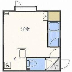 北海道札幌市東区北二十六条東10丁目の賃貸アパートの間取り
