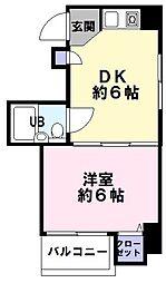 サンヴィラ神戸[7階]の間取り