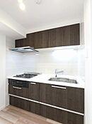 システムキッチン新規交換(吊戸・浄水機能付)