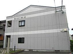 福岡県遠賀郡水巻町吉田西3丁目の賃貸アパートの外観