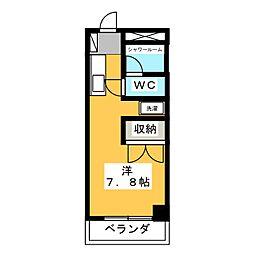 メゾンセレナーテ[2階]の間取り