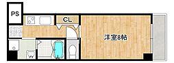 JR東海道・山陽本線 住吉駅 徒歩5分の賃貸マンション 3階1Kの間取り