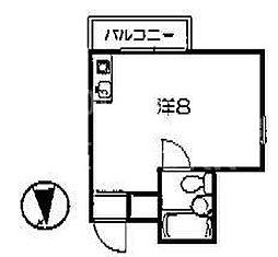 ハイツエスペランザ[303号室号室]の間取り