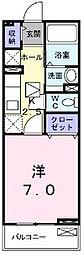 ブリッサII[1階]の間取り
