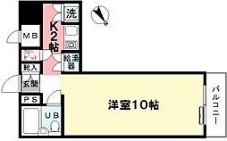 グランドメゾン新宿東[507号室]の間取り