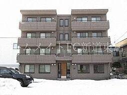 北海道札幌市東区北四十一条東2丁目の賃貸マンションの外観