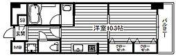 KDX堺筋本町レジデンス[9階]の間取り