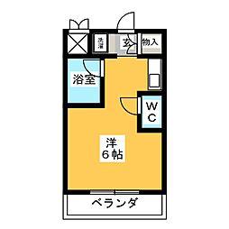 第2池場ハウス[4階]の間取り