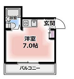 エスパシオ古川橋I[3階]の間取り