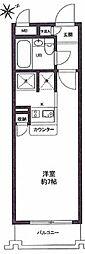 ワコーレ西新井2[2階]の間取り
