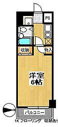 ランドマーク支倉[10階]の間取り