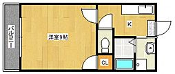 スプリングファーストビル[2階]の間取り