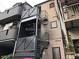 大阪府高槻市富田町1丁目の賃貸アパートの外観