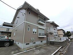 千葉県印旛郡酒々井町本佐倉の賃貸アパートの外観