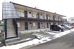 長野県長野市合戦場1丁目の賃貸アパートの外観