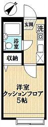 ルネッサンス瑞江[2階]の間取り
