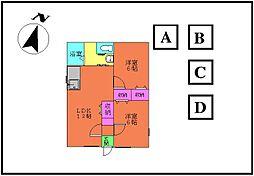 [一戸建] 群馬県太田市矢場新町 の賃貸【/】の間取り