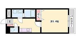 ルミナスハイツ[2階]の間取り
