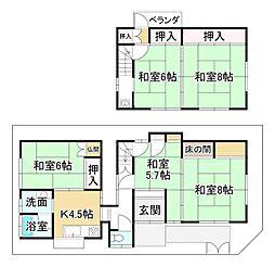 伊勢田駅 1,080万円