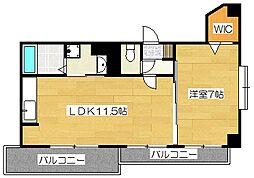 GRANDEUR住吉壱番館[2階]の間取り