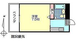 桜ヶ丘小野ビル[202号室]の間取り