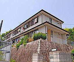 京都府京都市北区大宮薬師山西町の賃貸アパートの外観