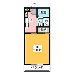 ViLLAフィラメント[2階]の間取り