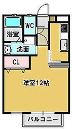 三重県鈴鹿市住吉町の賃貸アパートの間取り