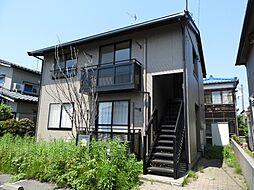 新潟県新発田市西園町1丁目の賃貸アパートの外観
