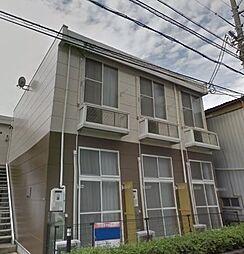広島県福山市西町1丁目の賃貸アパートの外観