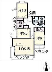 レジデンス・オリオン[3階]の間取り